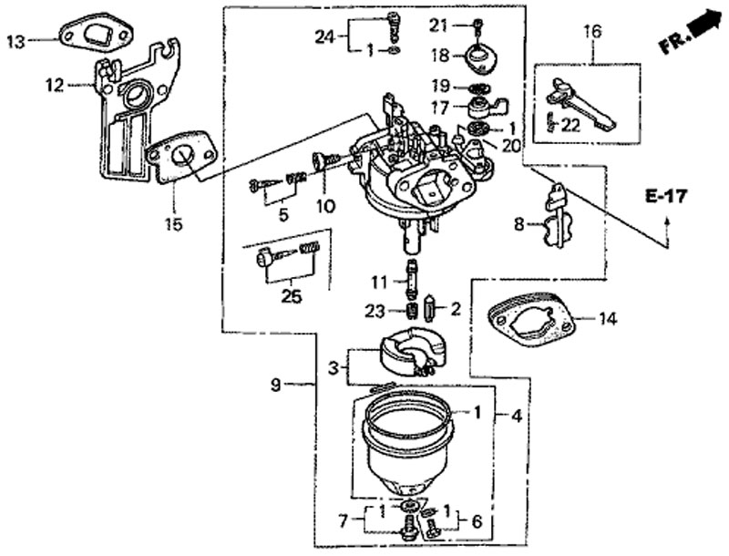Мотопомпа хонда gx 160 инструкция